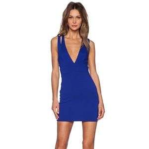 Revolve NBD royal blue Bodycon dress
